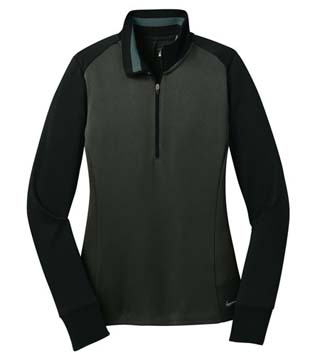 Ladies' Dri-Fit 1/2-Zip Cover-Up