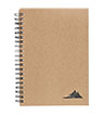 BLK-ICO-619 - Spiral Stone Paper Notebook