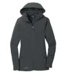 EB537 - Ladies' Hooded Soft Shell Parka