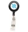 PA1-BH1 - Round Retractable Badge Reel - Solid