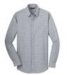 RH70 - Men's Windowpane Plaid Non-Iron Shirt