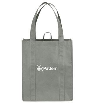 Pattern Shopper Tote Bag