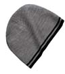 PE1-CP93 - Pattern Fine Knit Skull Cap with Stripes