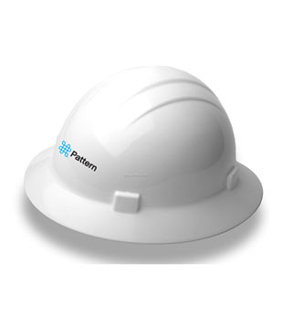 Americana Full Brim Hard Hat w/ 4 Point Slide Lock