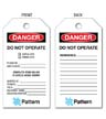 PE2-003 - Pattern Lock Out Tags