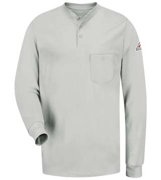 EXCEL FR® Long Sleeve Tagless Henley